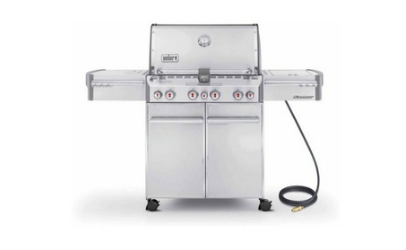 S-470 Natural Gas Grill, Stainless Steel 28128220-f872-4473-9e98-c5f8719a547a