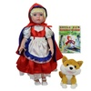 Deluxe Once Upon a time Storybook doll Little Red Riding Hood