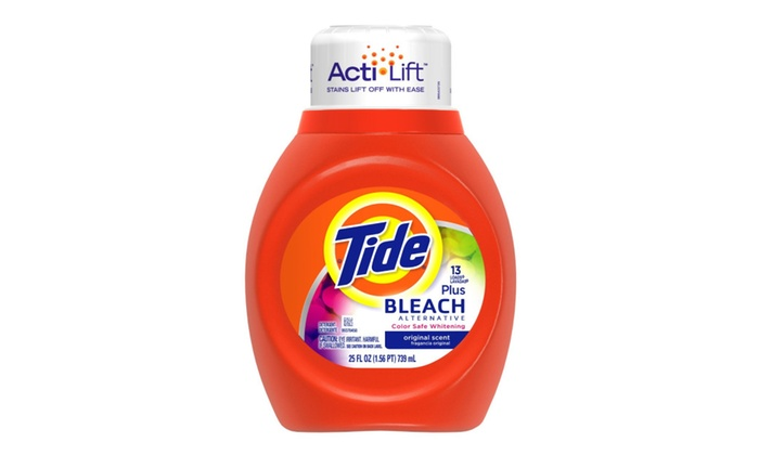 Tide With Bleach Alternative Procter And Gamble 25 Oz 6
