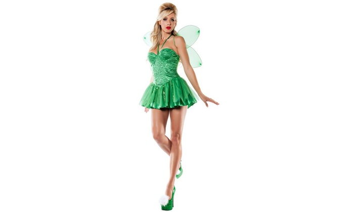 Tinkerbell Fairy Adult Costume