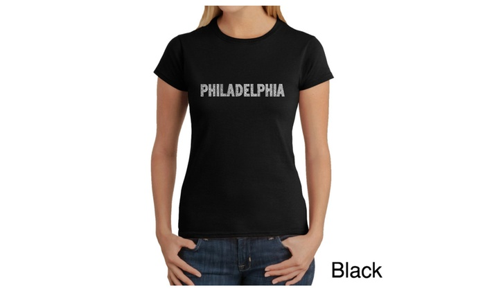 Women's T-Shirt - PHILADELPHIA NEIGHBORHOODS