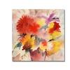Shelia Golden Bouquet . Canvas Print