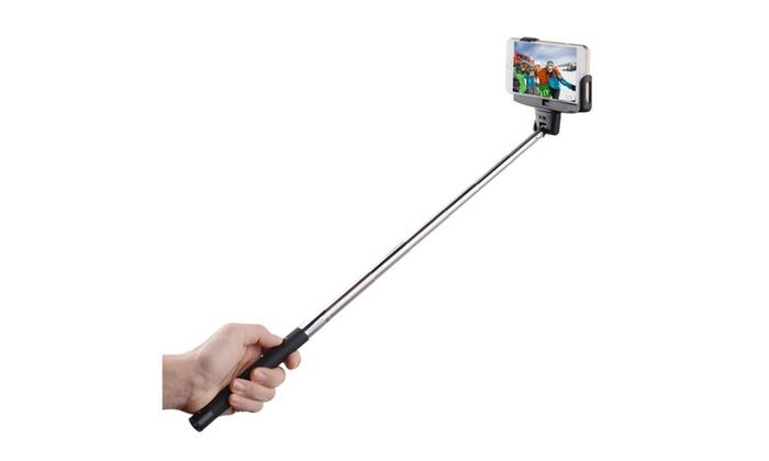 bluetooth selfie stick groupon. Black Bedroom Furniture Sets. Home Design Ideas