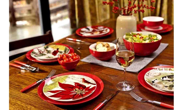 Jcpenney Christmas Dinnerware