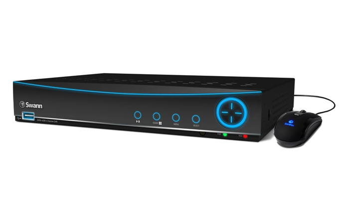 Swann SWDVR-44200H-US 4 Channel 960H Digital Video Recorder with 500GB