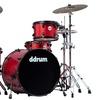 ddrum Journeyman Gen 2 5pc Rambler Drum Kit - Red Sparkle