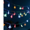 Crystal Clear Star Fairy String Lights (1- or 2-Pack)