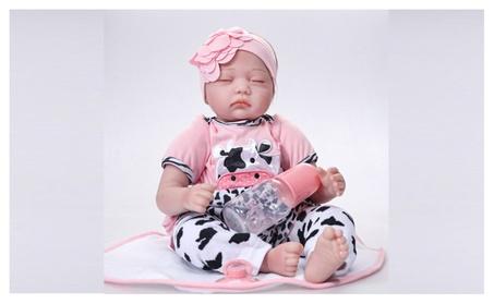"Realistic 22"" Reborn Baby Doll Full Body Silicone Vinyl Handmade Doll 558c7211-1187-4c49-87a7-514e8c2f72d7"