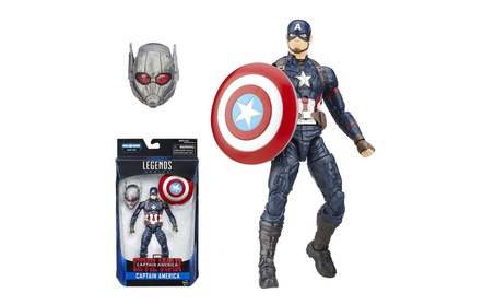 Marvel Legends: Captain America Action Figure Civil War BAF Giant Man ab37a22f-30d9-4cd2-9ebc-dac84c0cc0e4