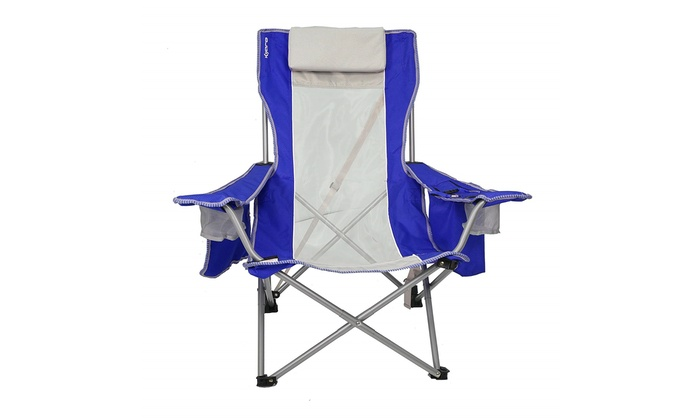 Super Kijaro Coast Folding Beach Sling Chair With Cooler Gmtry Best Dining Table And Chair Ideas Images Gmtryco