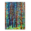 Mandy Budan In A Pine Forest Canvas Print