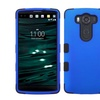 Insten Tuff Hard Dual Layer Silicone Cover Case For LG V10 Blue Black