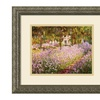 Claude Monet 'The Garden at Giverny, 1900' Framed Art Print 16 x 14-in