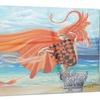 Wind Blows All Abstract Digital Art Metal Wall Art 28x12