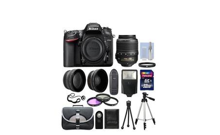Nikon D7200 Digital SLR Camera Black + 3 Lens: 18-55mm Lens + BUNDLE 36d90cc3-e654-4778-b3a5-13cb7a5cea67