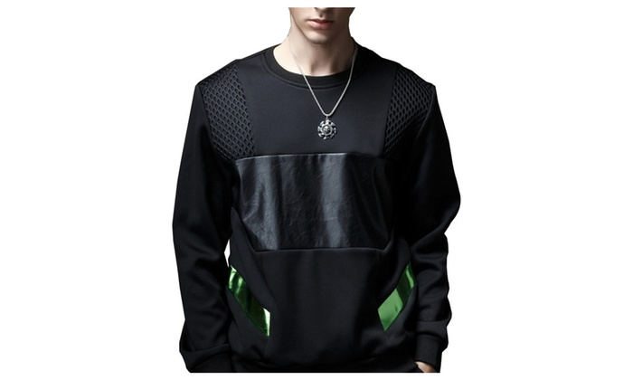 Shefetch Men's Fitted Autumn Warm Fashion Sweatshirts