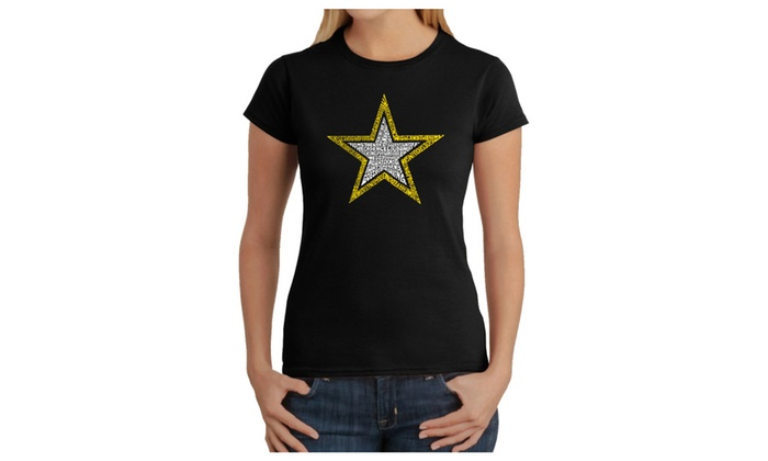 Women's T-Shirt – LYRICS TO THE ARMY SONG
