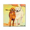 Pat Saunders-White Stick with Me Canvas Print