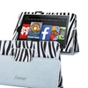 Insten For Kindle Fire HD 6 Folio PU Leather Smart Cover Black Zebra