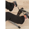 Portable Folding Fitness Pedal Stationary Under Desk Indoor Exercise Bike