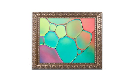 Cora Niele 'Stained Glass III' Ornate Framed Art 17c75e43-2ca8-4ece-b3df-a46225f26ff4