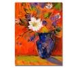 Sheila Golden Orange Wall Canvas Print