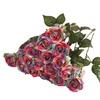Uniqstore Artificial Rose Flower Bouquet Wedding Home Decor Pack of 20