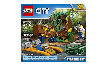 LEGO City Jungle Explorers Jungle Starter Set 60157 Building Kit 128ad922-debf-487b-931a-687f010ae6af