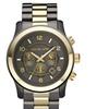 Michael Kors Men's Gun Metal Oversized Chronograph Watch
