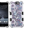 Insten European Flowers Layer Silicone Case For HTC One A9 Purple WH