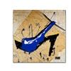 Roderick Stevens Blue Heel Canvas Print