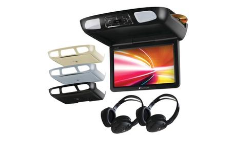 "Planet Audio 11.2"" Ceiling-Mount DVD Player w/ BuiltIn Ir Transmitter 11dfff4b-0f87-421c-a1a2-4780d5607921"