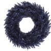 """24"""" Navy Blue Fir Wreath  210T"""