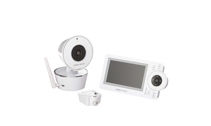Project Nursery 4 3 Video Baby Monitor System