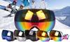 Professional Unisex Double Fog-proof Ski Snowboard Sunglasses Goggles