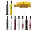 Elegant Wine Bottle Decorative Umbrella