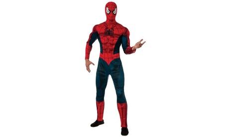 Spider-man Deluxe Adult Costume 1e512883-83f5-4d82-b9f5-c330c6207ec0