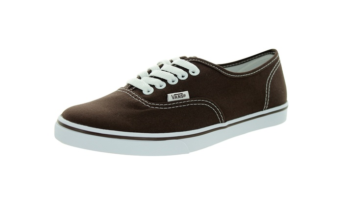 67ec2800330ce2 Vans Unisex Authentic Lo Pro Casual Shoe Medium ESPRESSO TRUE WHITE 8.5 Men  US   10 Women US Men s canvas