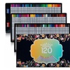 Colored Drawing Pencils 120 Unique Colors Art Sketching Set