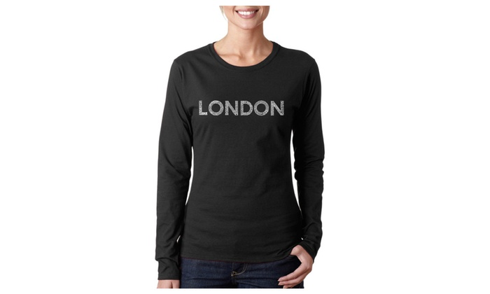 Women's Long Sleeve T-Shirt - LONDON NEIGHBORHOODS