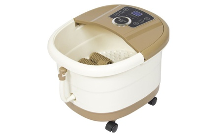 Foot Bath Spa Portable Feet Massager Heat Vibration And LED Display af508e4d-f6be-4f0e-9b17-8cec7a0b006f