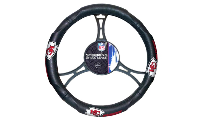 NFL 605 Chiefs Car Steering Wheel Cover