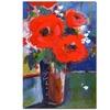 Sheila Golden Bouquet II Canvas Print