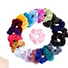 20 Pcs Hair Scrunchies Velvet Elastic Bands Scrunchy Ties Ropes 20 Colors