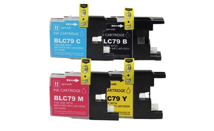 Brother LC79 Black/Color Combo Set Compatible