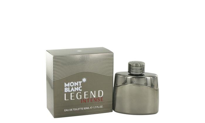 mont blanc legend intense eau de toilette spray for men groupon. Black Bedroom Furniture Sets. Home Design Ideas