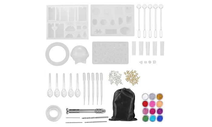DIY Resin Casting Silicone Molds Epoxy Silicone Kit Jewelry Making Pendant Craft