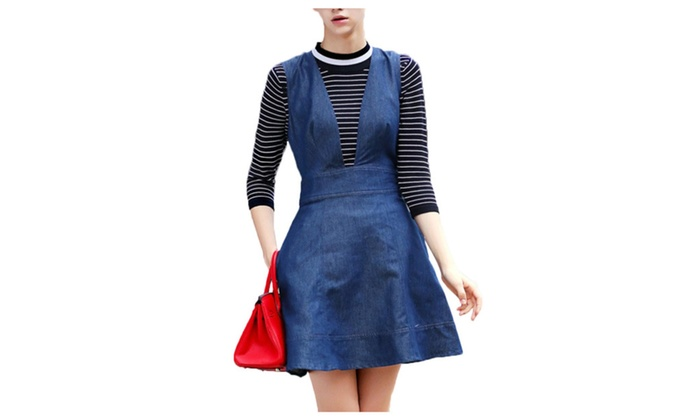 Tsunami Women's Tunic Casual Mid-Rise Colorblock Skirt Set