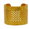 Laruicci Odessa Cuff in 18k Gold Plated Women 1 Pc Cuff