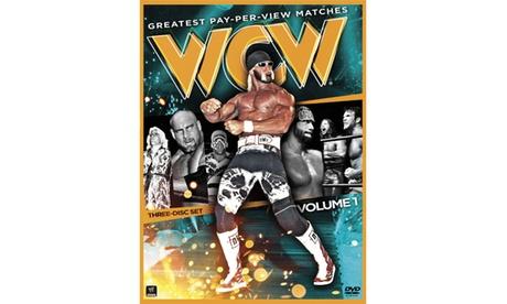 WWE: WCW's Greatest PPV Matches Vol. 1 (3-Disc)(DVD) 8fca0d99-a510-4ed3-b4dd-59a5a6b04cbc